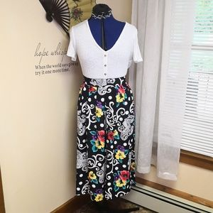 Vintage 80s does 50s skirt